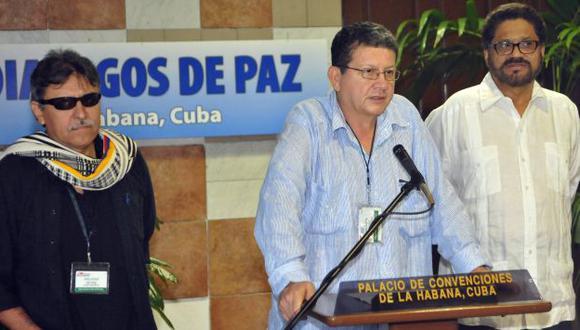 FARC en Cuba: Pablo Catatumbo expone planteamiento. (EFE)