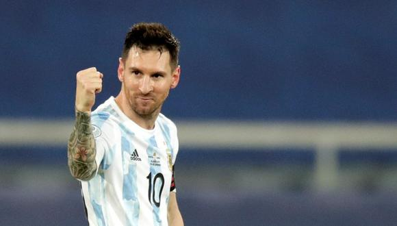 La Selección de Argentina empató con la Selección de Chile en Copa América 2021. (Foto: EFE)