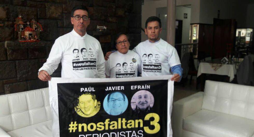 """Familiar de periodista secuestrado: """"Sigo manteniendo las esperanzas de que regresen con vida"""". (Daniel Goycochea/Perú21)"""