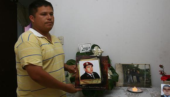 La familia de Manuel Núñez Burga clama por justicia. En la toma, su hermano. (USI)