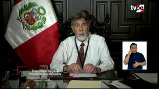 Presidente Sagasti anuncia suspensión de viajes interprovinciales en regiones en nivel sanitario extremo
