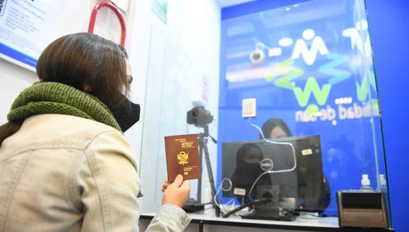Interesados en tramitar pasaporte serán atendidos en nueva sede del Jockey Plaza (Foto: Migraciones)