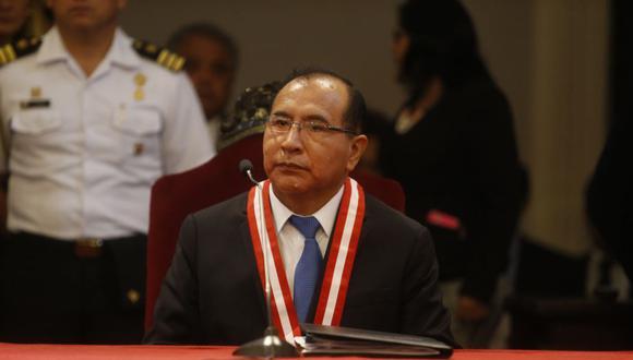 Víctor Ticona es el presidente del Jurado Nacional de Elecciones. (Perú21)