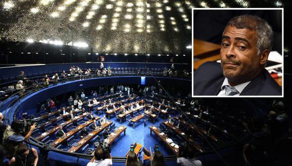 Brasil: Romario será uno de los senadores que revisará juicio contra Dilma Rousseff. (EFE/Composición)