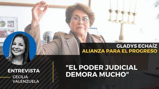 Gladys Echaíz candidata al Congreso por Alianza para el Progreso