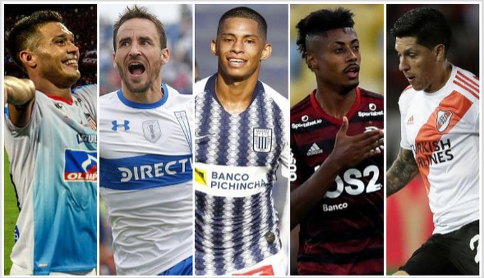 Los mejores jugadores de América para El País de Uruguay. (Foto: AFP)