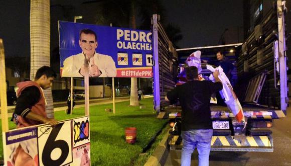 Municipalidad de San Isidro también inició con el retiro de propaganda electoral. (MSI)