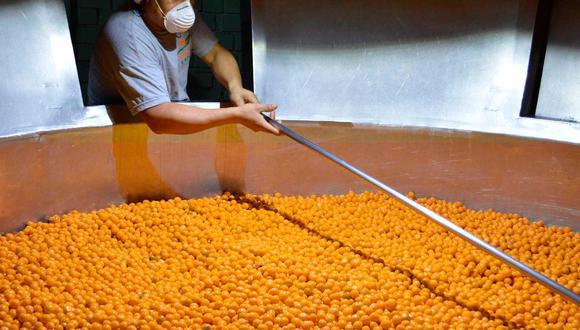 En 2020, el Perú exportó 287 toneladas de aguaymanto, que significaron US$ 2 millones 655 mil en ventas al exterior.