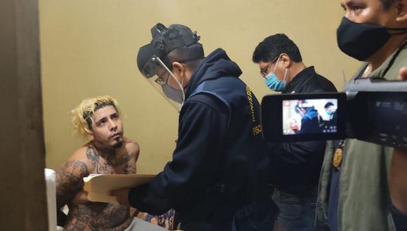 Integrante de la Mara Salvatrucha confesó crimen. (Foto: PNP)