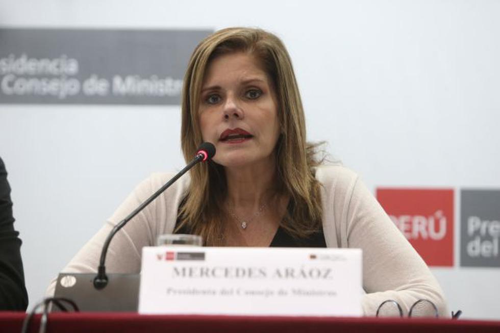 Primera ministra soltó duras críticas al proyecto Mulder. (Perú21)