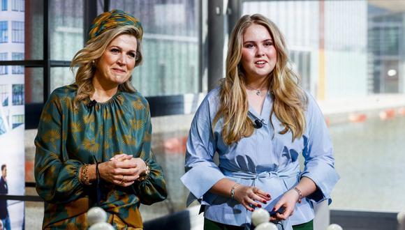 Catalina Amalia de Orange renunció a título personal a su sueldo de princesa y heredera al trono neerlandés. (Foto: Koen van Weel / ANP / AFP)