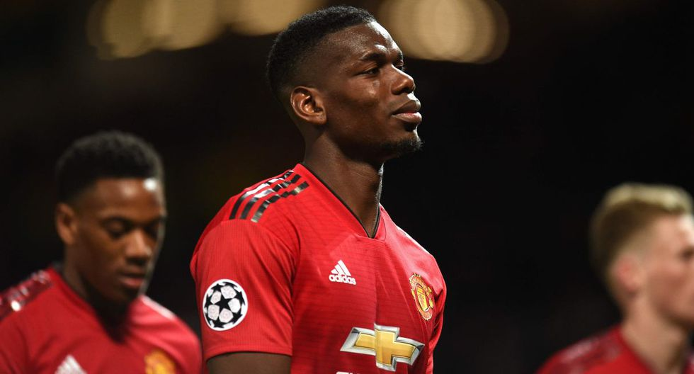 Paul Pogba saldría de Manchester United y se uniría a Real Madrid al concluir la próxima temporada en Europa. (Foto: AFP)