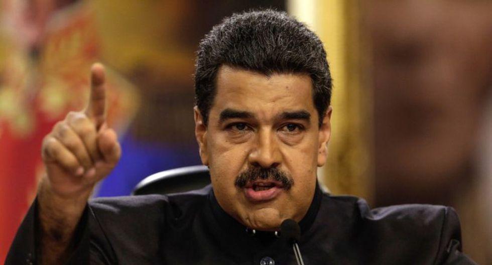 """La fuerza armada venezolana """"no se va a arrodillar más nunca a los gringos"""", afirmó el mandatario de Venezuela, Nicolás Maduro. (Foto: EFE)"""
