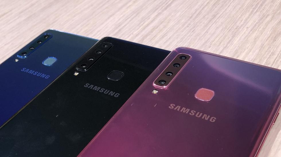 Samsung Galaxy A9. (Xataka)