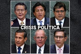 20 años de crisis política: Estos fueron los hechos que remecieron a los presidentes del Perú