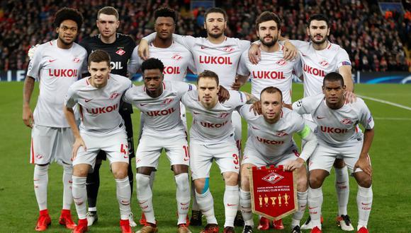 El Spartak de Moscú tuvo que borrar la publicación y compartir otro aclarando que en el club no hay racismo. (Reuters)