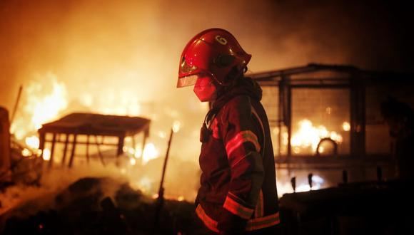 Una anciana falleció tras incendio dentro de su vivienda en Chorrillos. (Foto: César Grados / @photo.gec)