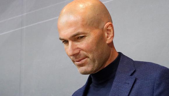 Zinedine Zidane, DT del Real Madrid, publicó un mensaje de despedida a su hermano Farid, quien dejó de existir el último sábado. (Foto: EFE)