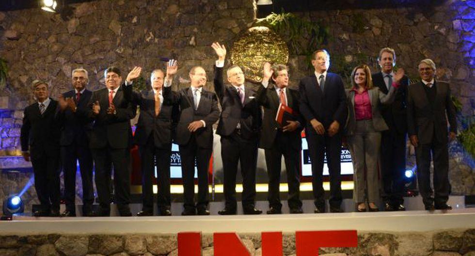 Debate técnico: Euipos de Fuerza Popular y PPK mostraron sus propuestas este domingo en Cusco. (Difusión)