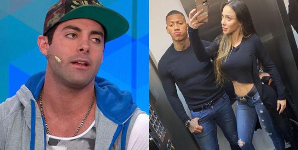 Pese a sus comentarios, el exchico reality manifestó que no le interesa lo que ocurra con el futbolista y con Andrea Miranda, su expareja.