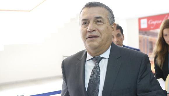 Daniel Urresti está feliz de que el Congreso lo interpele. (Perú21)