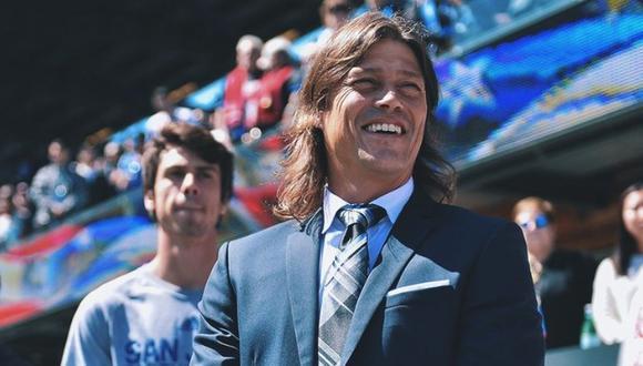 Matías Almeyda siempre se caracterizó por tener el cabello largo. (Foto: Agencias)