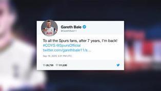 Bale regresa al Tottenham como cedido