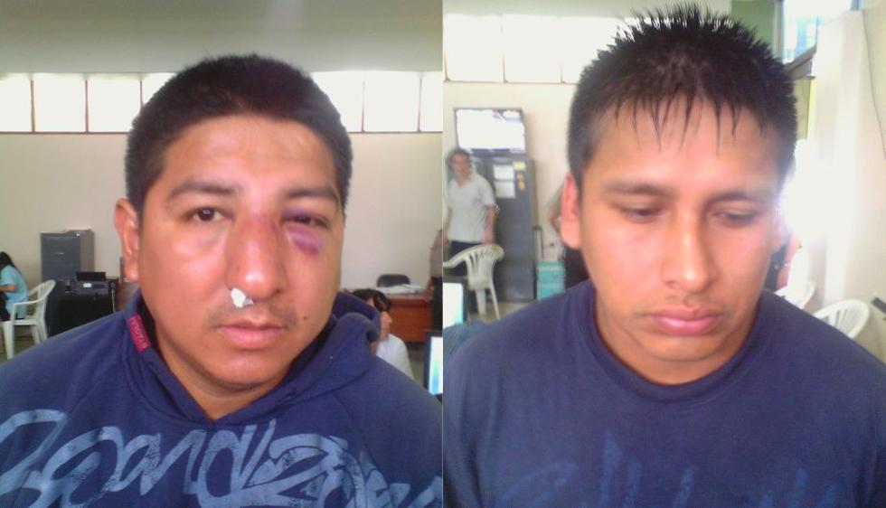 Agentes de la comisaría de Miraflores capturaron a dos integrantes de una banda criminal que se dedican a estafar y robar con la modalidad de la 'llamada millonaria'. (Difusión)