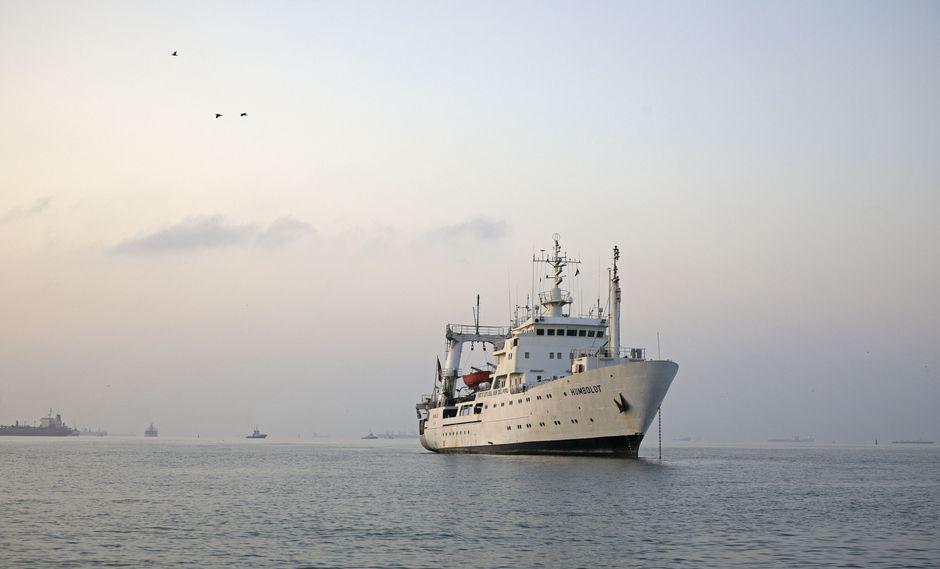 La operación contará con la participación de los buques científicos BIC José Olaya Balandra, BIC Humboldt. (Foto: Produce)