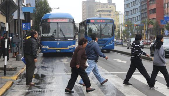 Reforma del transporte: Gobierno otorgó 40 días para que se revisen contratos de corredores viales. (USI)