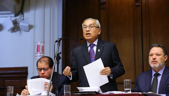 El 28 de mayo la Comisión Permanente rechazó acusar a Pedro Chávarry por organización criminal y encubrimiento personal. (Foto: Congreso)