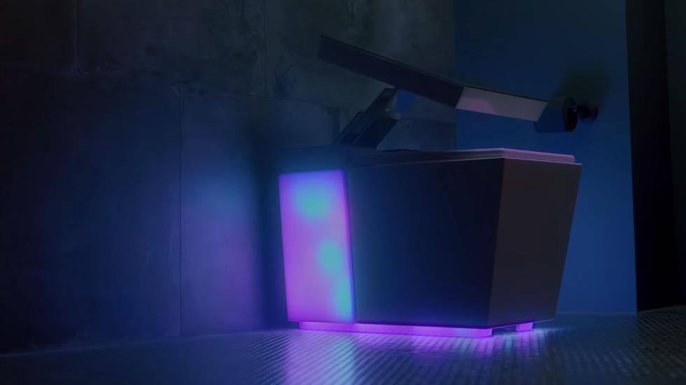 Trono digno de un rey: Toda la tecnología de este inodoro hará que no te muevas del baño. (YouTube)