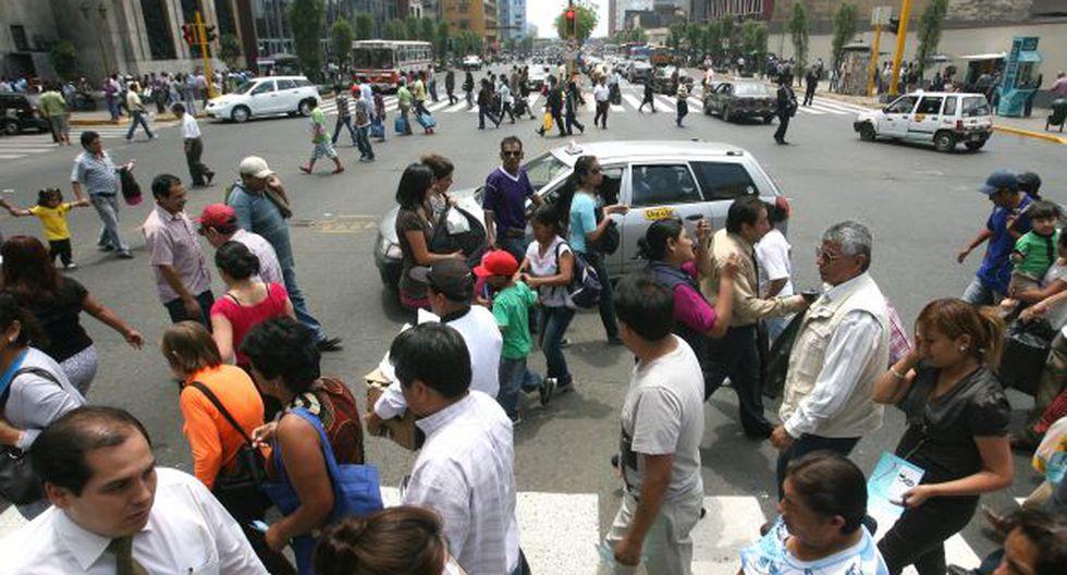 Accidente ocurrió en la cuadra 6 de la avenida Abancay. (Perú21)