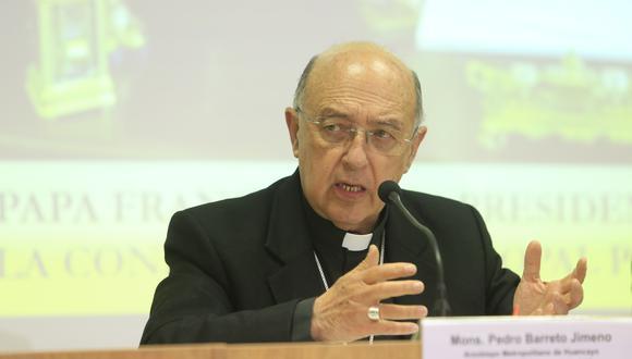 El cardenal Pedro Barreto recordó que hubo un juramento firmado para que se respeten organismos electorales. (Foto: Archivo/GEC)