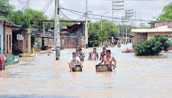 Afectados. Los daños causados por El Niño costero no se repetirán el próximo año. (Noticias Piura)