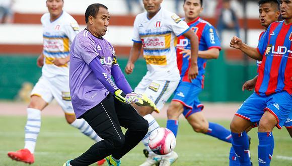 Carlos Laura quiere ser el segundo jugador con 45 años en jugar en la Primera División. (Foto: GEC)