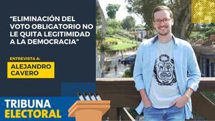 Alejandro Cavero candidato al Congreso por Avanza País
