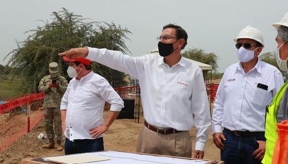 Martín Vizcarra enviará el oficio un día antes de la invitación que recibió del fiscal Germán Juárez. (Foto: Presidencia)