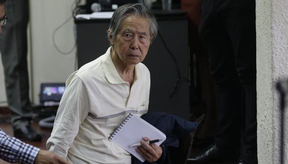 Alberto Fujimori cumple una condena de 25 años por los delitos de lesa humanidad. (GEC)