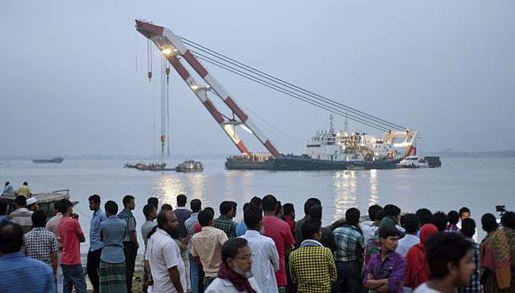 Bangladesh: Sube a 29 la cifra de muertos por naufragio de ferry. (Reuters)