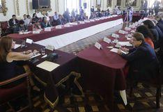 Jorge Muñoz y congresistas acordaron agenda legislativa para apoyar proyectos de Lima