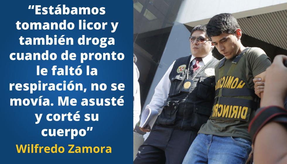 Wilfredo Zamora fue capturado el viernes último.