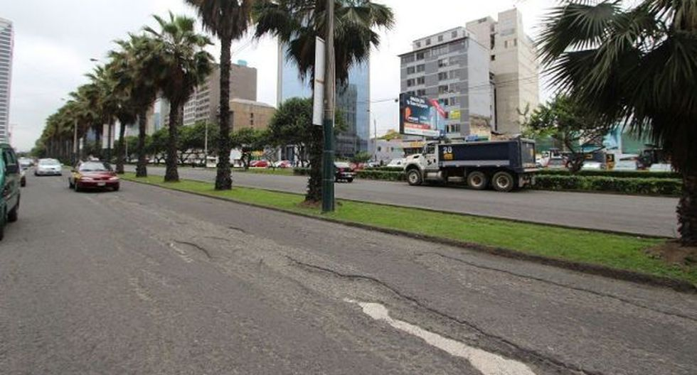 San Isidro iniciará reparación de 20 mil metros cuadrados de Av. República de Panamá. (Difusión)
