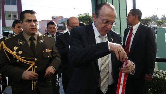 SE RETRACTA. Peláez dice que ni se acordaba de su demanda contra el padre de asesinada Claudina. (Heiner Aparicio)