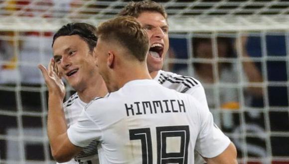 Alemania vs. Holanda: chocan en Amsterdam por la Liga de Naciones. (Foto: EFE)