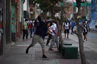 Hinchas de Alianza Lima protagonizaron disturbios a las afueras del Estadio Nacional