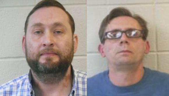 Bateman y Rowland, profesores de química, fueron separados de sus cargos. (AP)