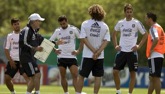 Sabella afina el equipo que enfrentará a Perú en Buenos Aires. (AP)