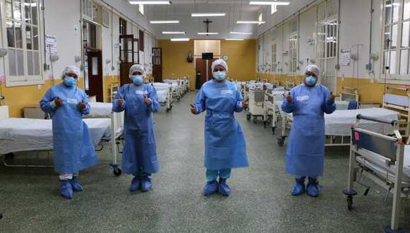 Estas camas permitirá reforzar la capacidad de respuesta ante el incremento de casos de coronavirus. (Foto: Minsa)