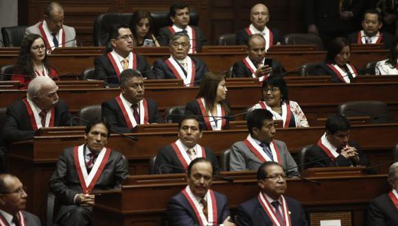 Congresistas de Fuerza Popular. (Perú21)